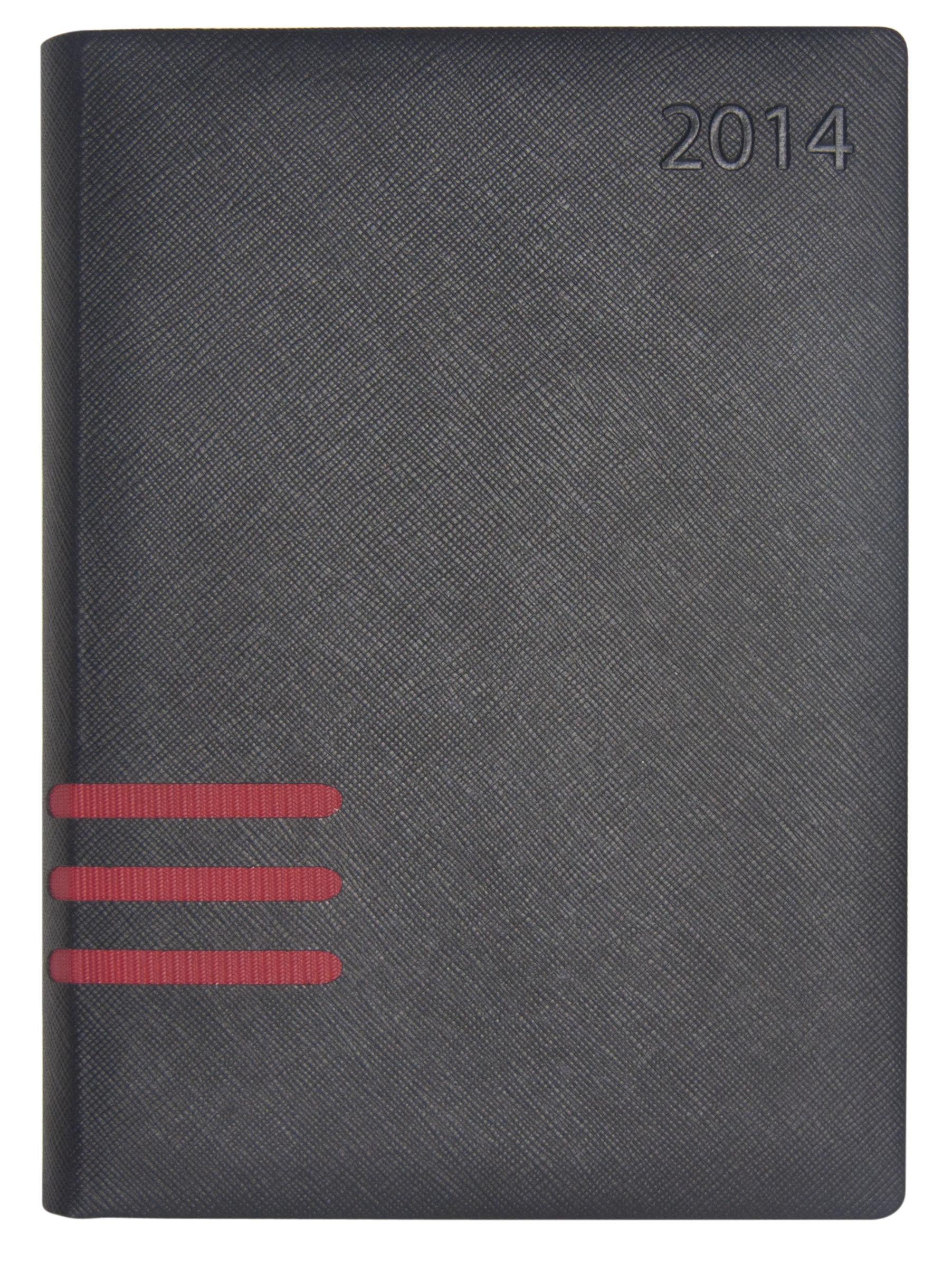 Agenda 2014 - Negro con Rojo