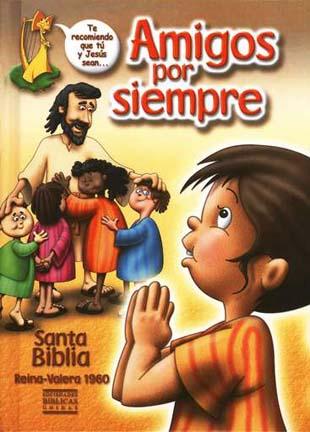 Biblia Amigos por Siempre RVR 1960 tapa dura