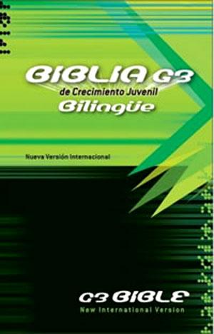 Biblia BIlingue G3 NVI-NIV Tapa dura
