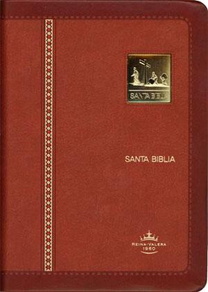 Biblia Compacta RVR60 Edicion limitada imtacion piel-indice