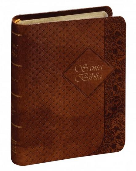 Biblia Compacta Color Café Indice