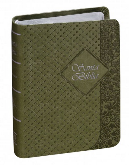 Biblia Compacta Color Verde Indice