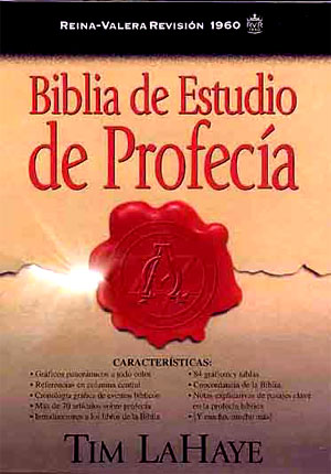 Biblia De Estudio De Profecia RVR 1960 tapa dura