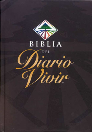 Biblia Del  Diario Vivir De Estudio rvr 1960 tapa dura