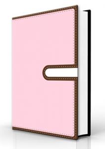Biblia Devocional Para La Mujer nvi piel italiana rosa-cafe