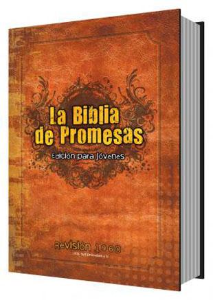 Biblia Juvenil De Promesas RVR60 para hombres tapa dura