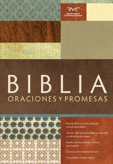 Biblia Oraciones y Promesas Tapa dura impresa