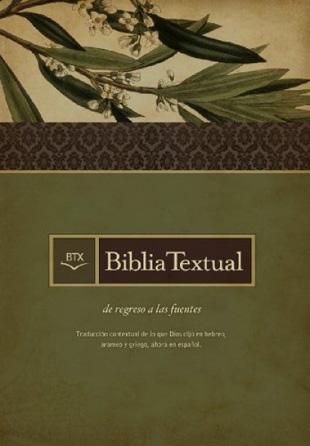 Biblia Textual BTX Tapa Dura Con Indice