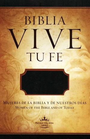 Biblia Vive Tu Fe RVR60 Imitacion piel diseñada