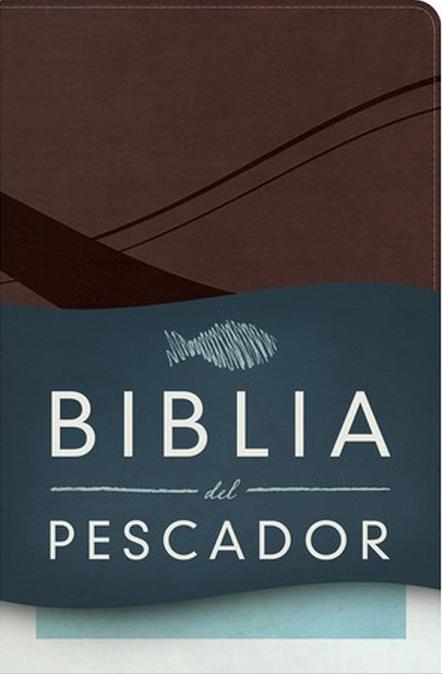 Biblia del Pescador Chocolate Simil Piel