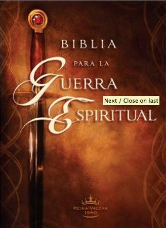 Biblia para la Guerra Espiritual - RV60
