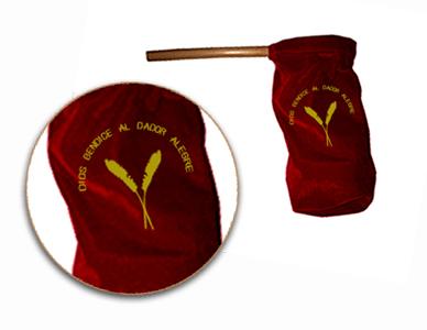 Bolsa Para Ofrendas Gamuza Rojo - ofrendero