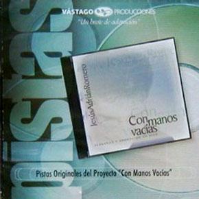 CD Pista - Con Manos Vacias - Jesus adrian