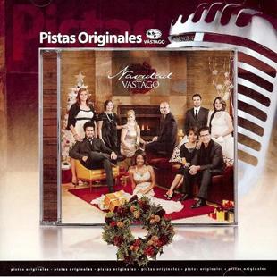 CD Pista - Navidad Con Vastago - jesus adrian romero - varios