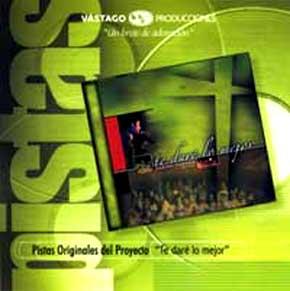 CD Pista - Te Dare Lo Mejor - Jesus adrian