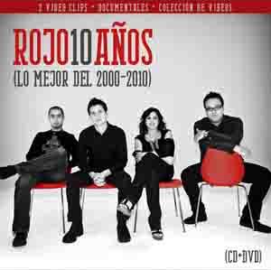 CD - Rojo 10 Años - Lo Mejor del 2000-2010