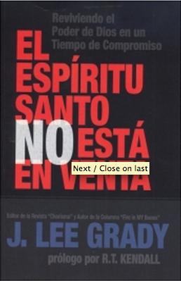 Espíritu Santo no esta en Venta - Lee Grady
