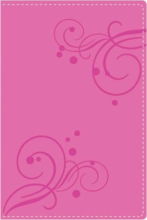 NVI Nueva Biblia De Regalo Dos tonos italiano rosada