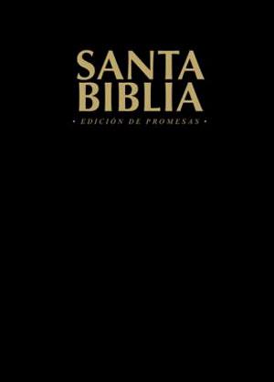 Santa Biblia RVR 1960  Edición de promesas economica negra