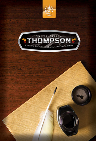 Santa Biblia Thompsom RVR60 tapa dura ediccion especial para el