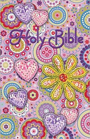 Sequin Bible  Pink - International Childrens Bible